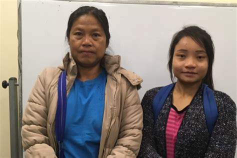 Mother and Daughter Reunited   Nationalities Service Center