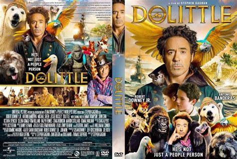 Dolittle DVD Cover in 2020 | Dvd covers, Movie covers, Dvd