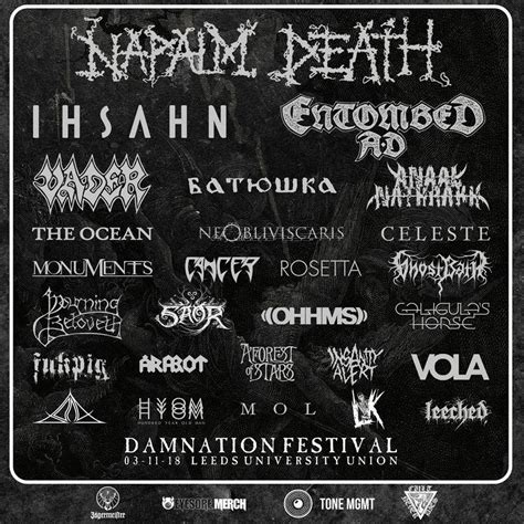 Damnation Fest 2019   Echoes And Dust