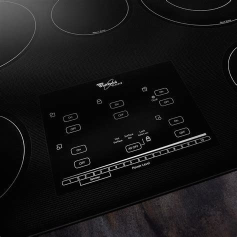 Whirlpool G9CE3065XB 30 Inch Smoothtop Electric Cooktop