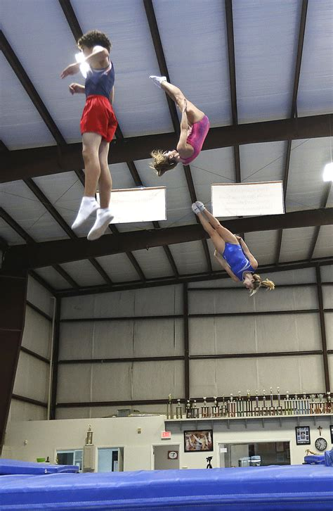 Trampoline gymnasts power up for US Olympic trials | The