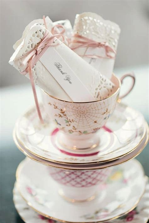 DIY Tea Party Favors: Doily Wrapped Candy Bars   75th