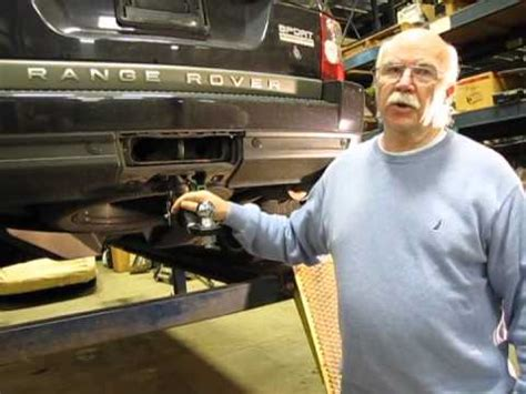 Quick Release Trailer Hitch Installation on a Range Rover