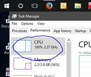 CPU Usage at solid 100% and brightness issue - Windows 10