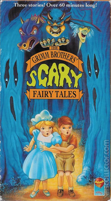 The Grimm Brothers' Scary Fairy Tales   VHSCollector