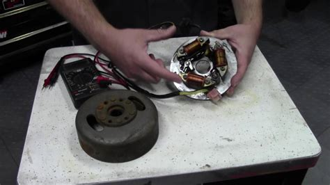 Ignition system testing, Magneto coils, Points and CDI