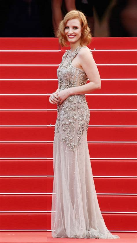 Wallpaper Jessica Chastain, Cannes Film Festival 2016, red
