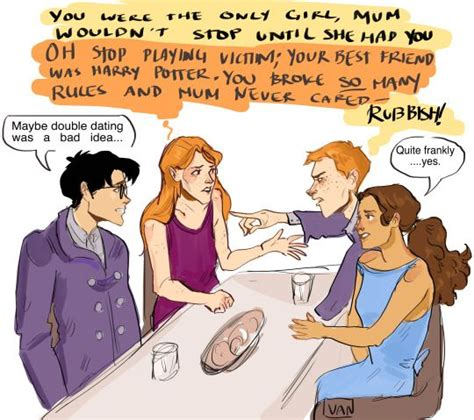 I just feel like Ron and Ginny would be the most