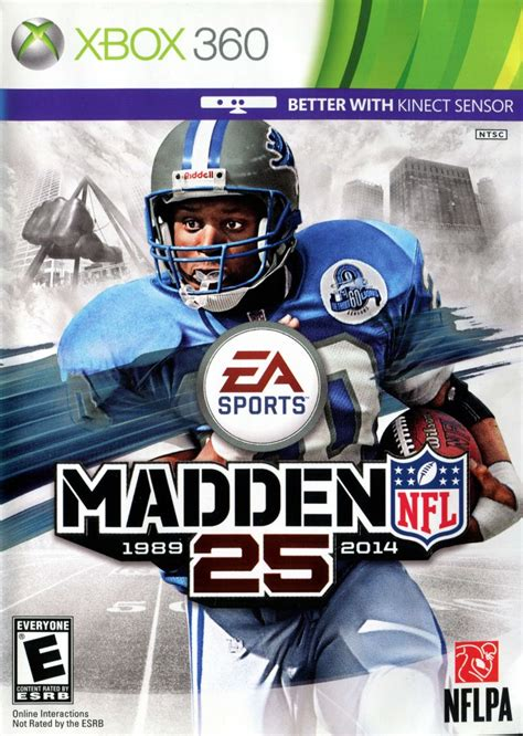 Madden NFL 25 (2013) Xbox 360 credits - MobyGames