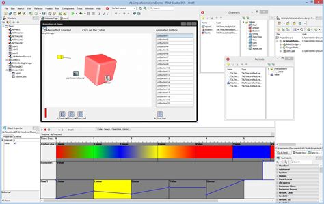 AnimationLab VCL - Delphi/C++ Builder VCL/FMX library for