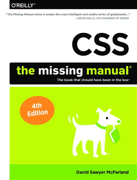 CSS: The Missing Manual, Fourth Edition 3 CSS Manual