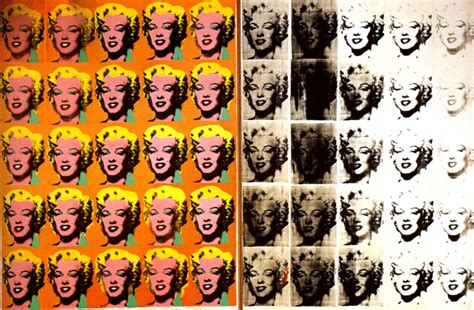 """L'oeuvre """"Marilyn Monroe Diptych"""" 1962 d'Andy Wahol"""