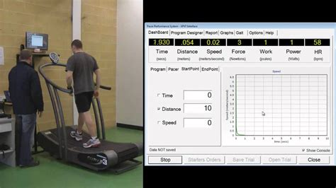Wingate Anaerobic Power test using Pacer Software and