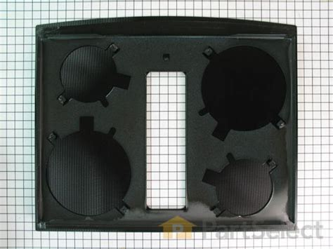 COOKTOP STOVE: REPLACEMENT GLASS COOKTOP FOR WHIRLPOOL STOVE