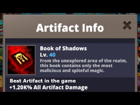 Tap Titans 2 - A Guide to Artifacts! Best Artifacts for