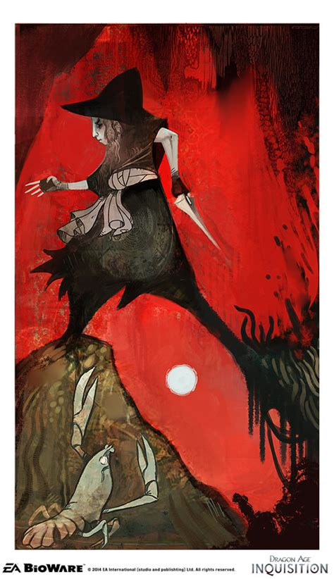 Dragon Age Inquisition's tarot deck was so